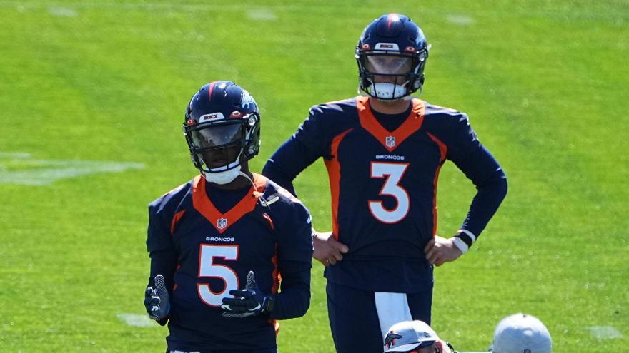 Broncos' QB competition could span entire preseason