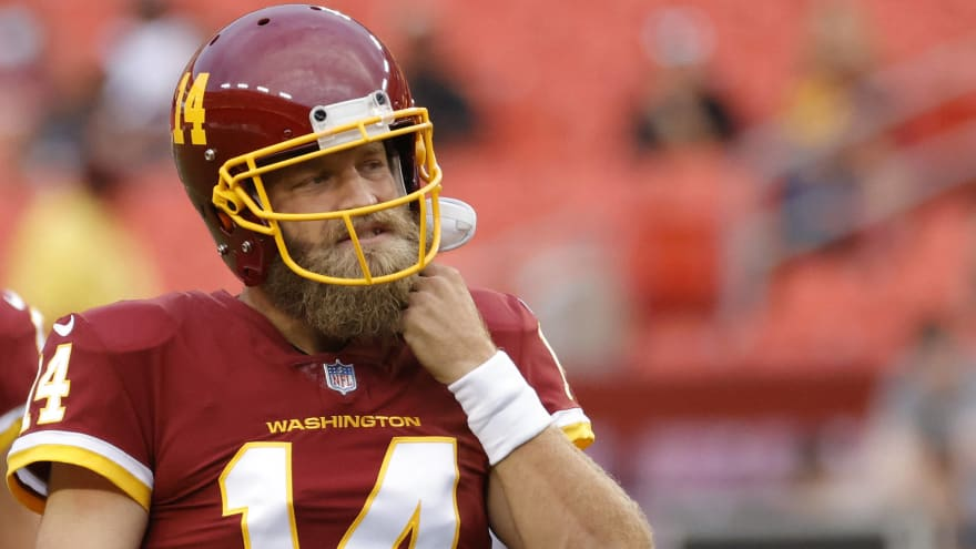 WFT QB Ryan Fitzpatrick out 6-8 weeks with hip subluxation