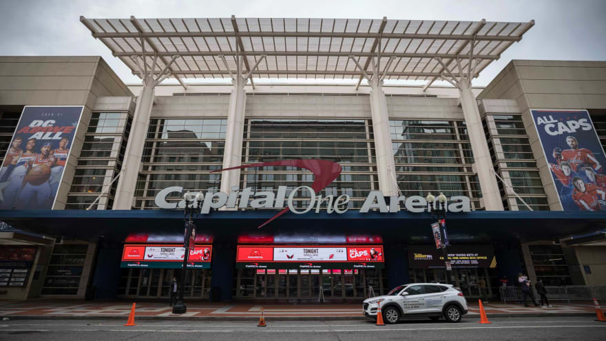 Wizards, Capitals to welcome fans back at 10% capacity