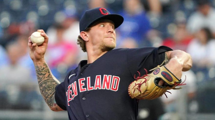 Zach Plesac is baseball's unluckiest pitcher