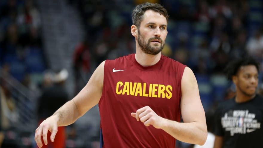 Cavs' Kevin Love donates $100K to arena workers impacted by NBA shutdown