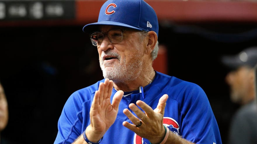 Cubs not addressing Joe Maddon's contract until next year