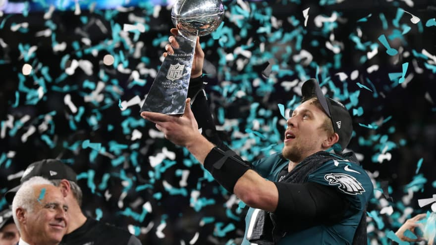 Limited number of replica Eagles' Super Bowl rings available at $11,127 apiece