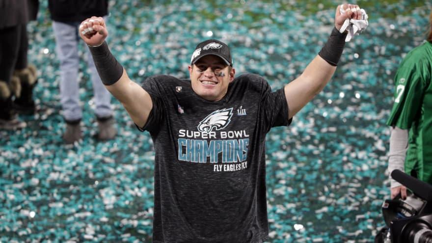 Brent Celek explains how Eagles beat Patriots in Super Bowl LII