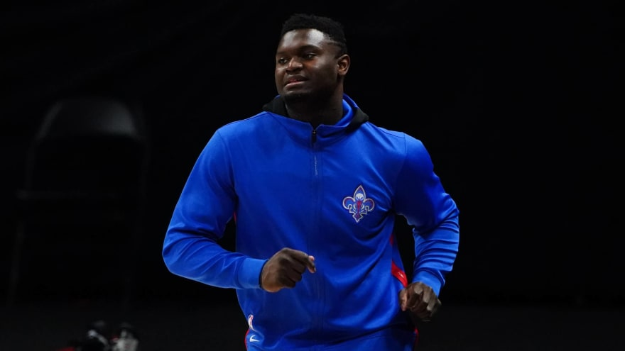 Zion recovering from offseason foot surgery