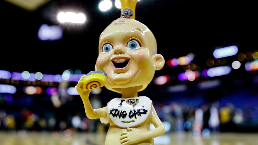 The weirdest sports mascots, past and present