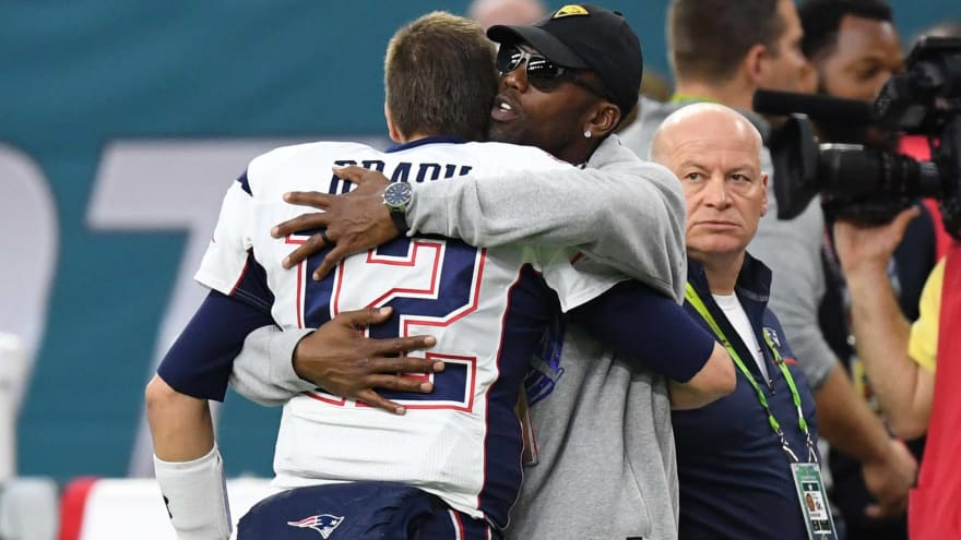 Tom Brady strangely comments on Randy Moss' IG tribute