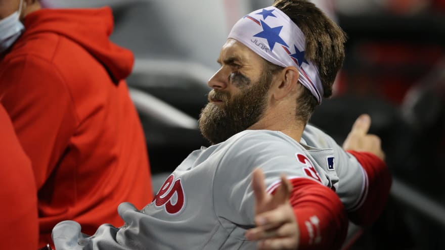 Phillies' Bryce Harper may go on IL with sore wrist?