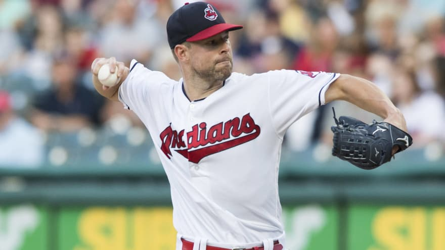 Report: Indians place high asking price on starting pitchers