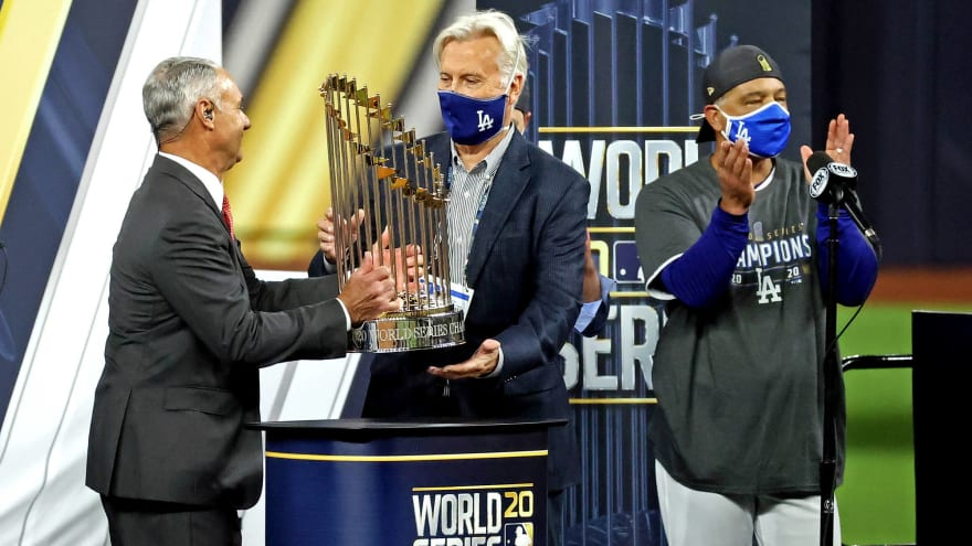 Odds to win the 2021 World Series