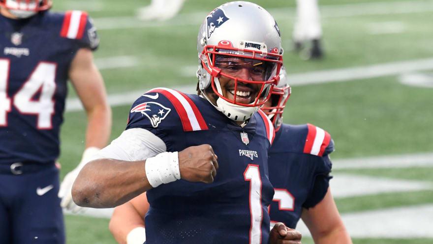 Newton supported Patriots drafting Jones '110 percent'