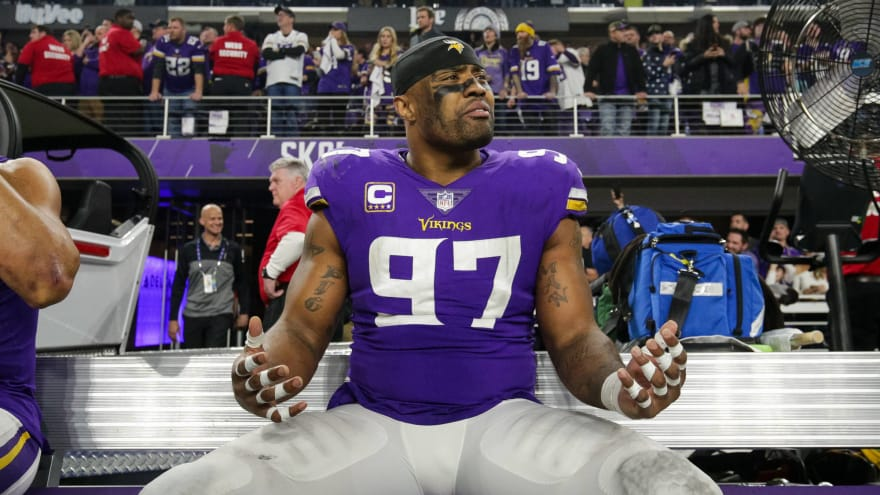 Report: Everson Griffen being treated at mental health facility
