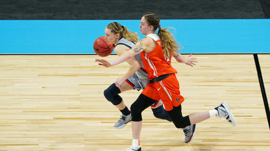 Paige Bueckers, No. 1 UConn too much for No. 8 Syracuse