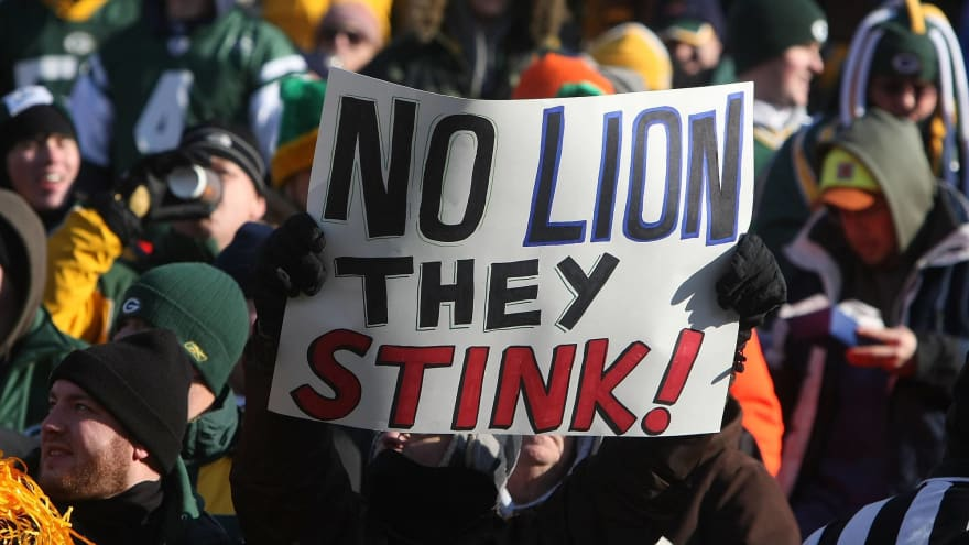 The worst NFL teams from the past 50 years