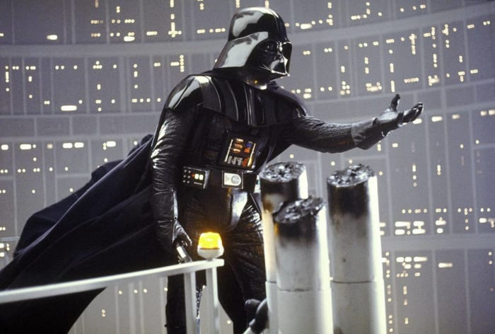 "Darth Vader, ""Star Wars: Episode V - The Empire Strikes Back"" (1980), ""Episode VI - Return of the Jedi"" (1983)"