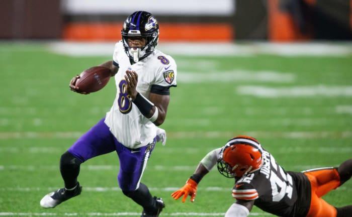 2020: Ravens at Browns, Week 14