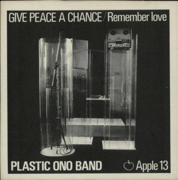 """""""Give Peace a Chance,"""" Plastic On0 Band (1969)"""