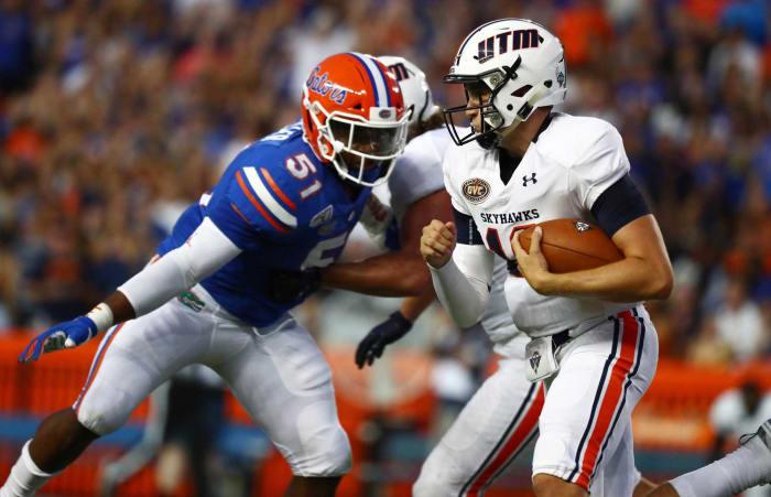 Detroit Lions (via Rams): Ventrell Miller, LB, Florida