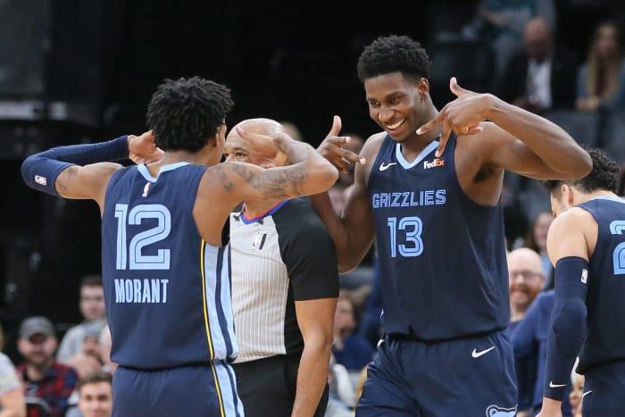 The Grizzlies have zero players averaging 20 PPG, but nine players averaging at least 9.3 PPG
