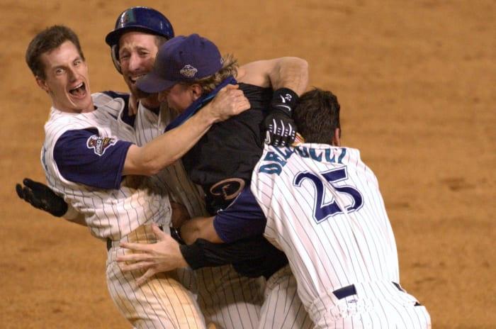 Arizona Diamondbacks (World Series Game 7, Nov. 4, 2001)