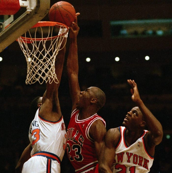 Putting Ewing on a poster