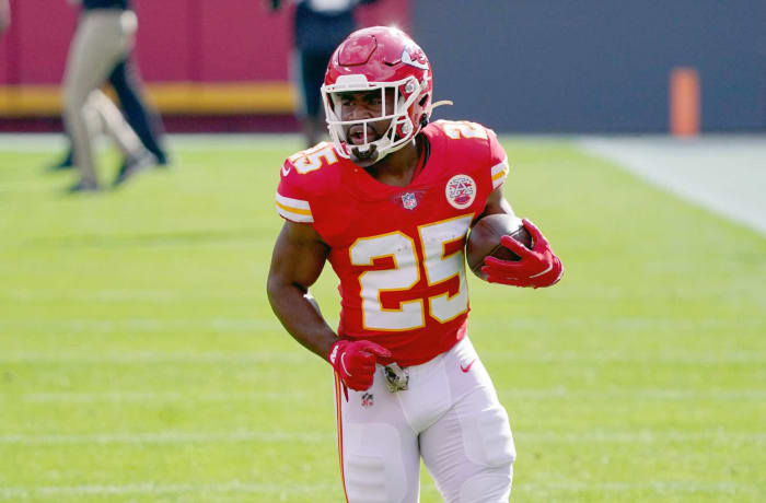 Kansas City Chiefs: Clyde Edwards-Helaire, RB