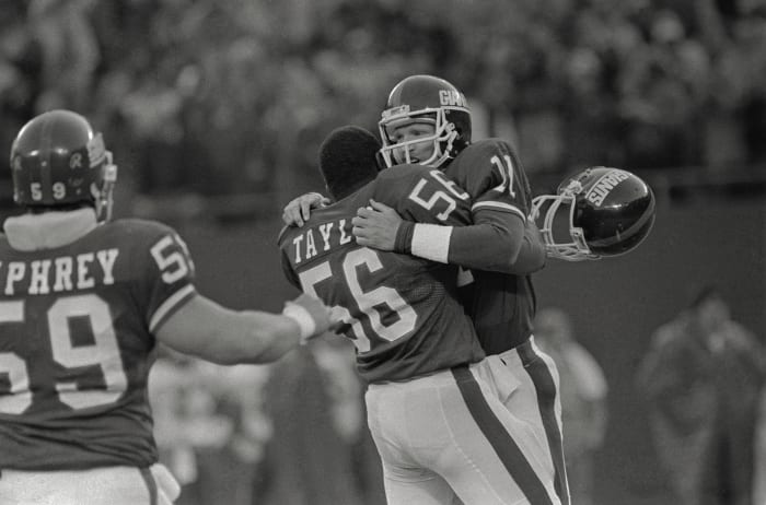 Parcells' first rebuild puts Giants back on map