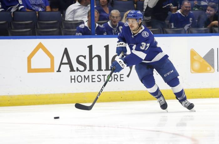 Forward: Yanni Gourde (Tampa Bay Lightning)