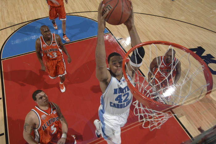 North Carolina 75, Illinois 70 (2005)