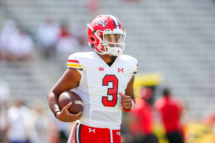 Maryland (2-0, 0-0 in Big Ten) at Illinois (1-2, 1-0 in Big Ten), 9 p.m., Friday, FS1