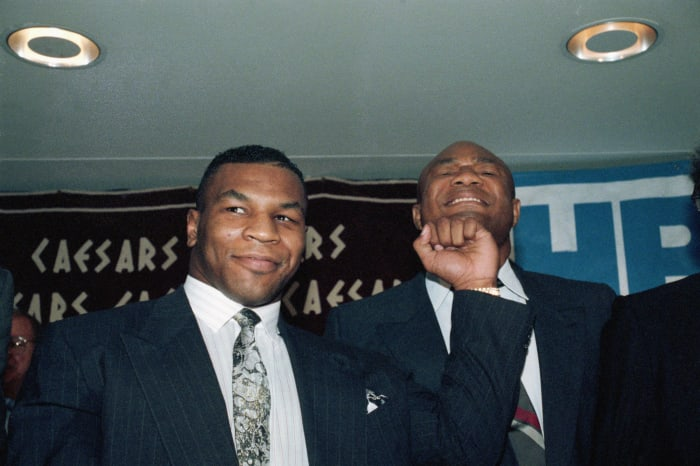 Mike Tyson-George Foreman