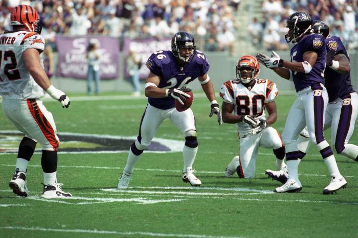 Rod Woodson, Baltimore Ravens; 1998