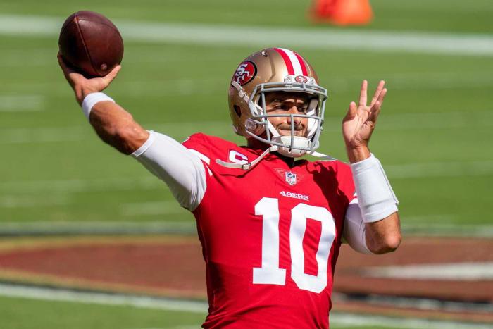Overpaid quarterback: Jimmy Garoppolo, 49ers
