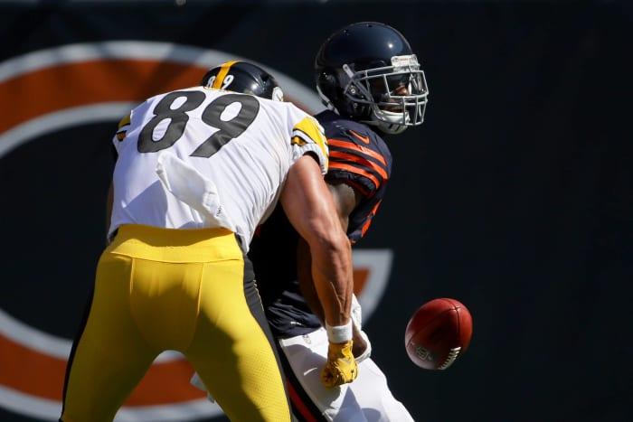 Vance McDonald saves a touchdown
