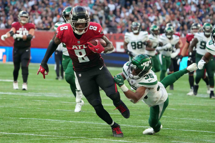 Falcons see their tight end prize erupt