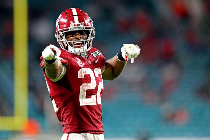 Atlanta Falcons: Najee Harris, RB, Alabama