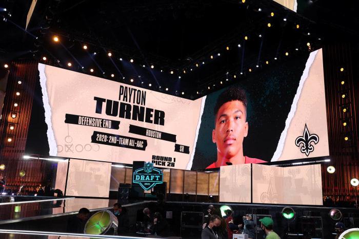 New Orleans Saints: Drafted DE Payton Turner