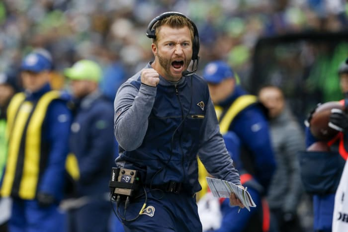 Rams win big on Millennial head coach