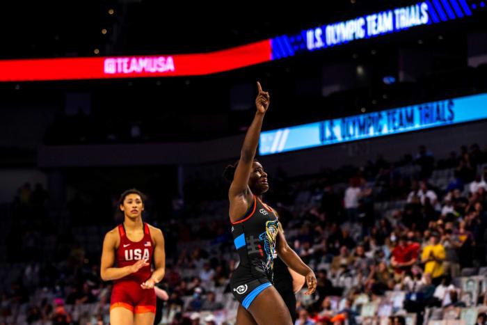Tamyra Mensah-Stock (women's wrestling)