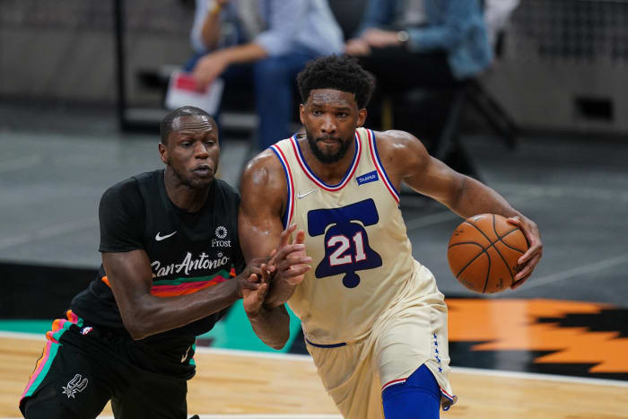 The 76ers are plus-12.2 points per 100 possessions with Joel Embiid on the court