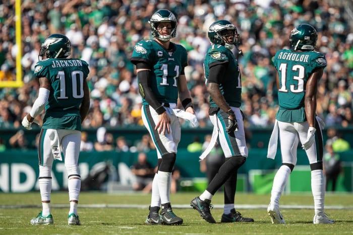 Philadelphia Eagles, wide receiver