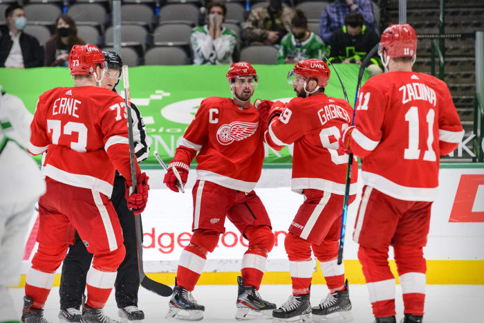 Detroit Red Wings: The rebuild marches on
