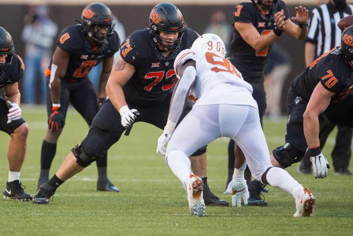 Washington Football Team: Teven Jenkins, OT, Oklahoma State