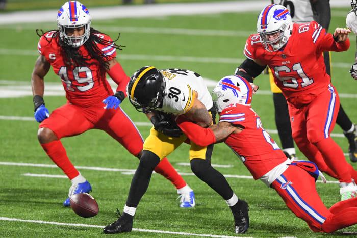 Abysmal run game creating Steelers crisis