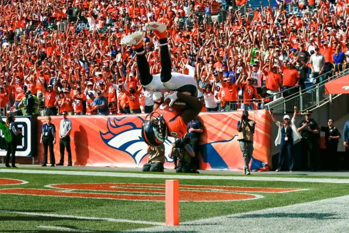 Emmanuel Sanders, Denver Broncos; 2014