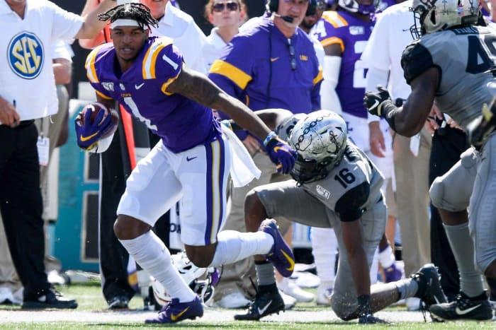 No. 5 | Bengals: LSU WR Ja'Marr Chase