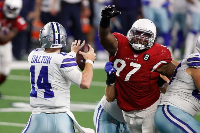 Overpaid defensive tackle: Jordan Phillips, Cardinals