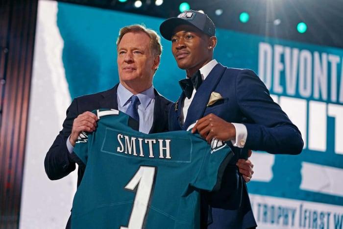 Philadelphia Eagles: DeVonta Smith, WR