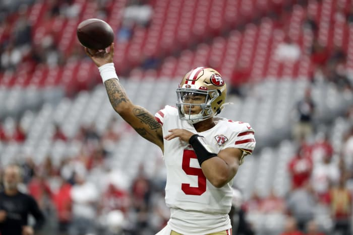Trey Lance shows promise, but 49ers offense slows