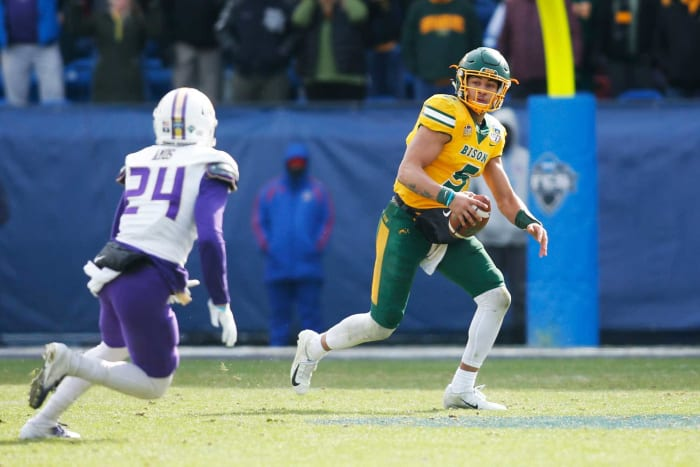 Denver Broncos: Trey Lance, QB, North Dakota State